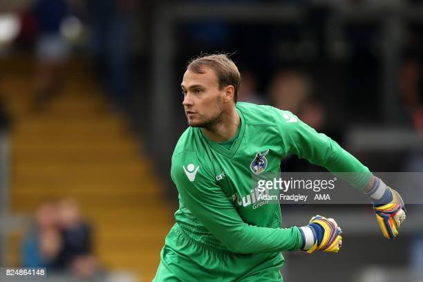 Sam Slocombe of Bristol Rovers during the Pre Season Friendly match between Bristol Rovers and West Bromwich Albion at Memorial Stadium on July 29...