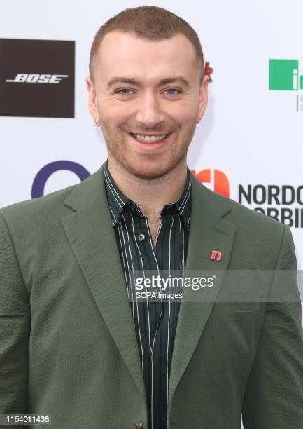 Sam Smith at the Nordoff Robbins O2 Silver Clef Awards at the Grosvenor House, Park Lane.