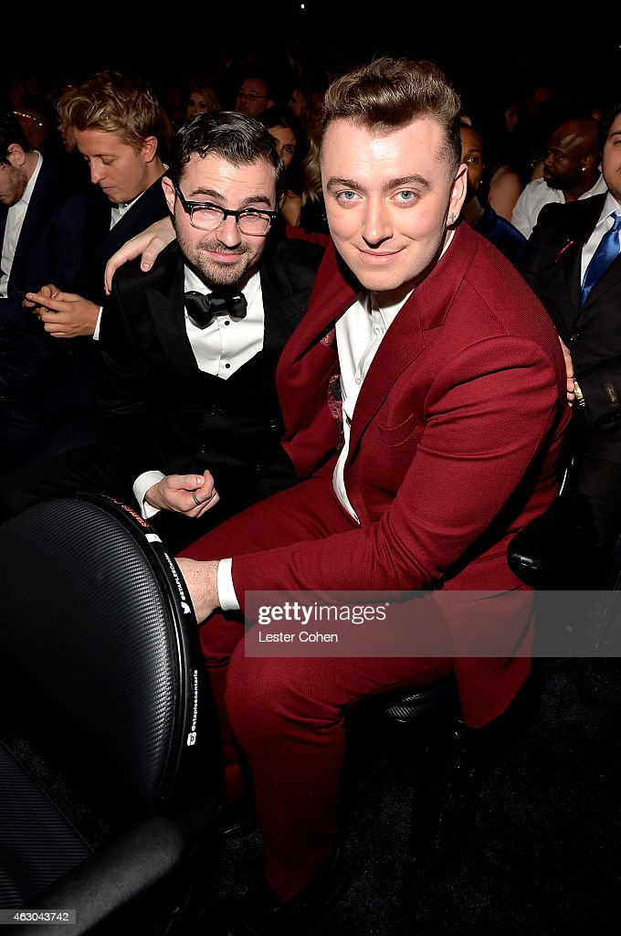 Sam Smith attends The 57th Annual GRAMMY Awards at the STAPLES Center on February 8, 2015 in Los Angeles, California.
