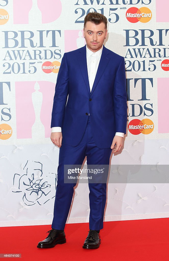 Sam Smith attends the BRIT Awards 2015 at The O2 Arena on February 25, 2015 in London, England.