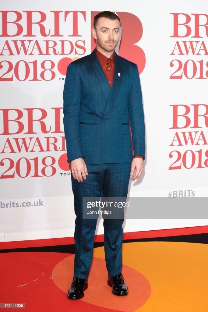 The BRIT Awards 2018 - Red Carpet Arrivals : Nachrichtenfoto