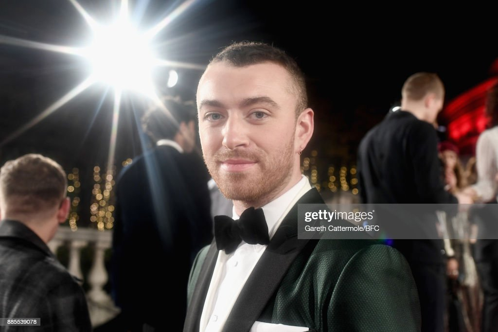 Sam Smith attends The Fashion Awards 2017 in partnership with Swarovski at Royal Albert Hall on December 4, 2017 in London, England.