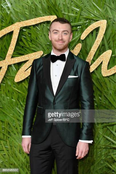 Sam Smith attends The Fashion Awards 2017 in partnership with Swarovski at Royal Albert Hall on December 4 2017 in London England