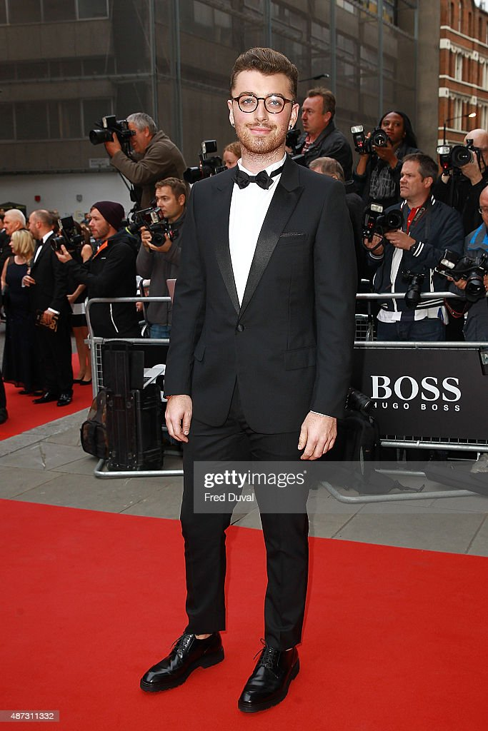 Sam Smith attends the GQ Men Of The Year Awards at The Royal Opera House on September 8, 2015 in London, England.