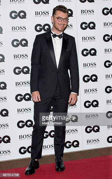 Sam Smith attends the GQ Men of the Year Awards at The Royal Opera House on September 8 2015 in London England