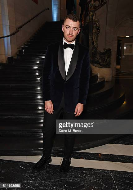 Sam Smith attends the launch of the Esquire Townhouse with Dior on October 12 2016 in London England