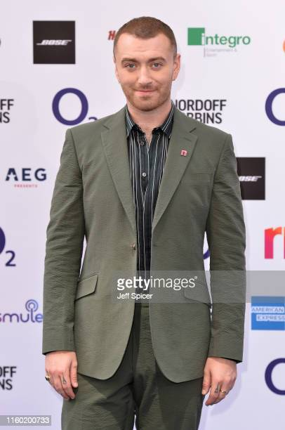 Sam Smith attends the Nordoff Robbins O2 Silver Clef Awards 2019 at the Grosvenor House on July 05 2019 in London England
