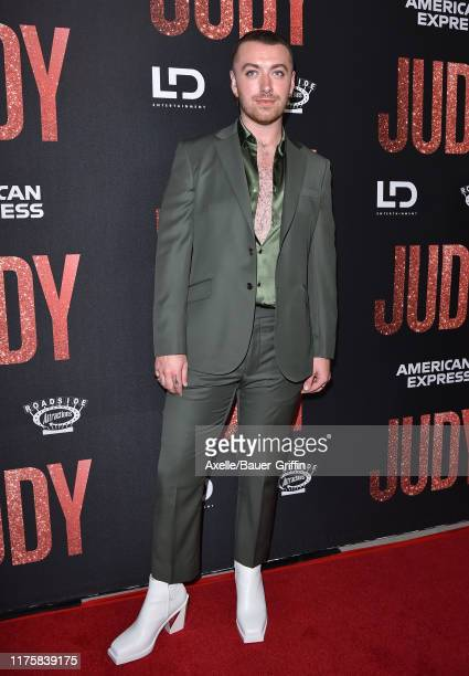 Sam Smith attends the LA Premiere of Roadside Attraction's Judy at Samuel Goldwyn Theater on September 19 2019 in Beverly Hills California