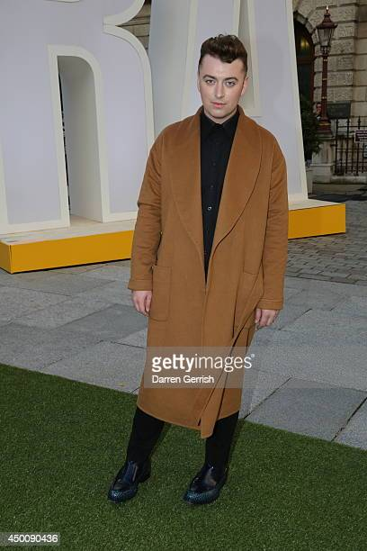 Sam Smith attends the Royal Academy Summer Exhibition Preview Party at Royal Academy of Arts on June 4 2014 in London England