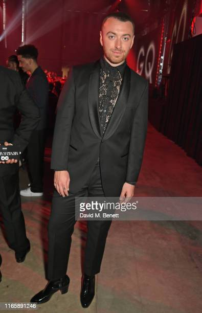 Sam Smith attends the the GQ Men Of The Year Awards 2019 in association with HUGO BOSS at the Tate Modern on September 3, 2019 in London, England.