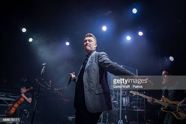 Sam Smith performs at Le Trabendo on May 7, 2014 in Paris, France.