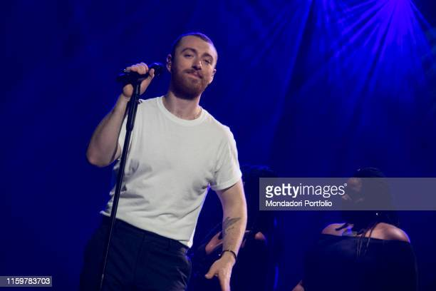 Sam Smith The Thrill of it All World Tour at the Forum of Assago on May 11 2018 in Milan Italy