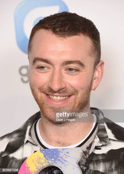 Sam Smith wins the Mass Appeal Award at The Global Awards a brand new awards show hosted by Global the Media Entertainment Group at Eventim Apollo...