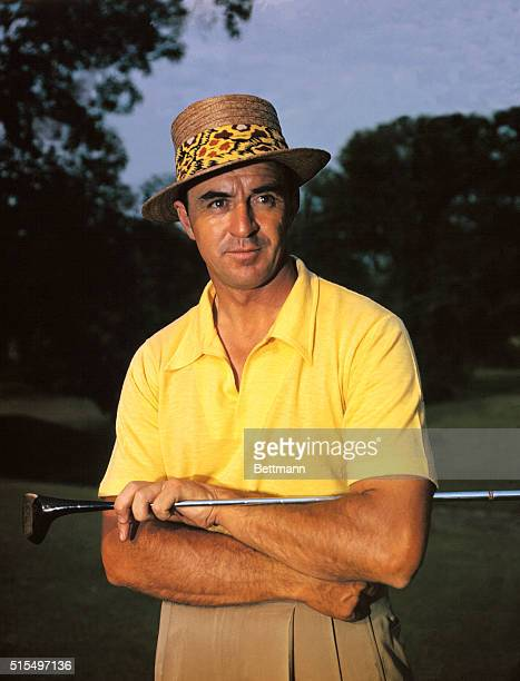 Sam Snead at National Open Golf Tournament at Medinah Country Club near Chicago Illinois on June 1618 1949