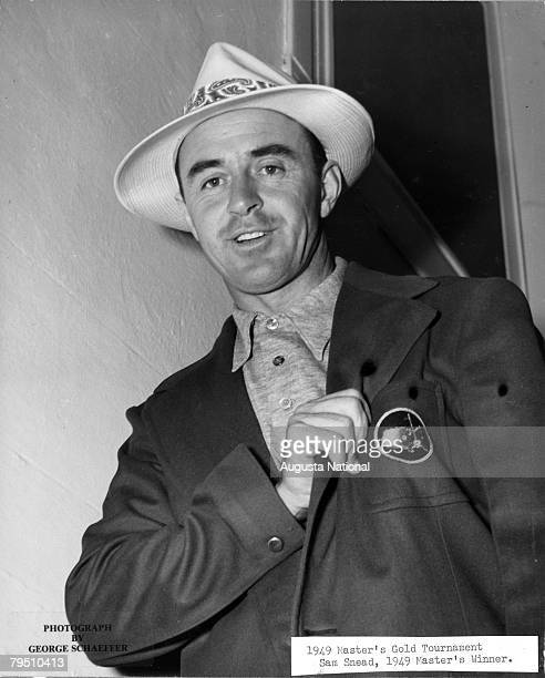 Sam Snead In His Green Jacket Of The 1949 Masters Tournament