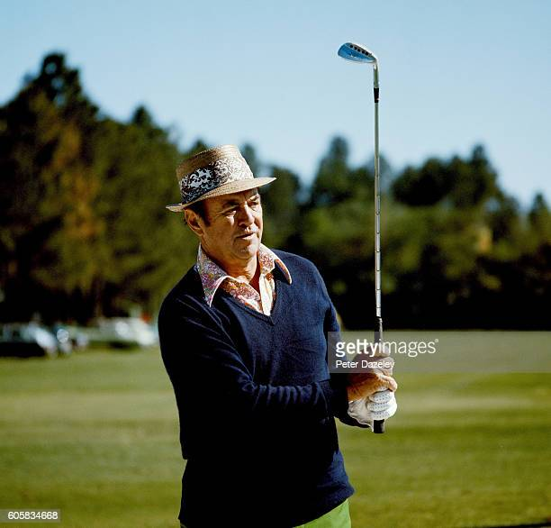 Sam Snead of the United States during the Piccadilly World Match Play Championship played on the West Course 'Burma Road' at Wentworth on September12...
