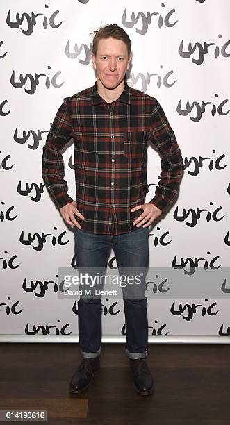 Sam Spruell attends the press night performance of 'Shopping And Fucking' at The Lyric Hammersmith on October 12 2016 in London England