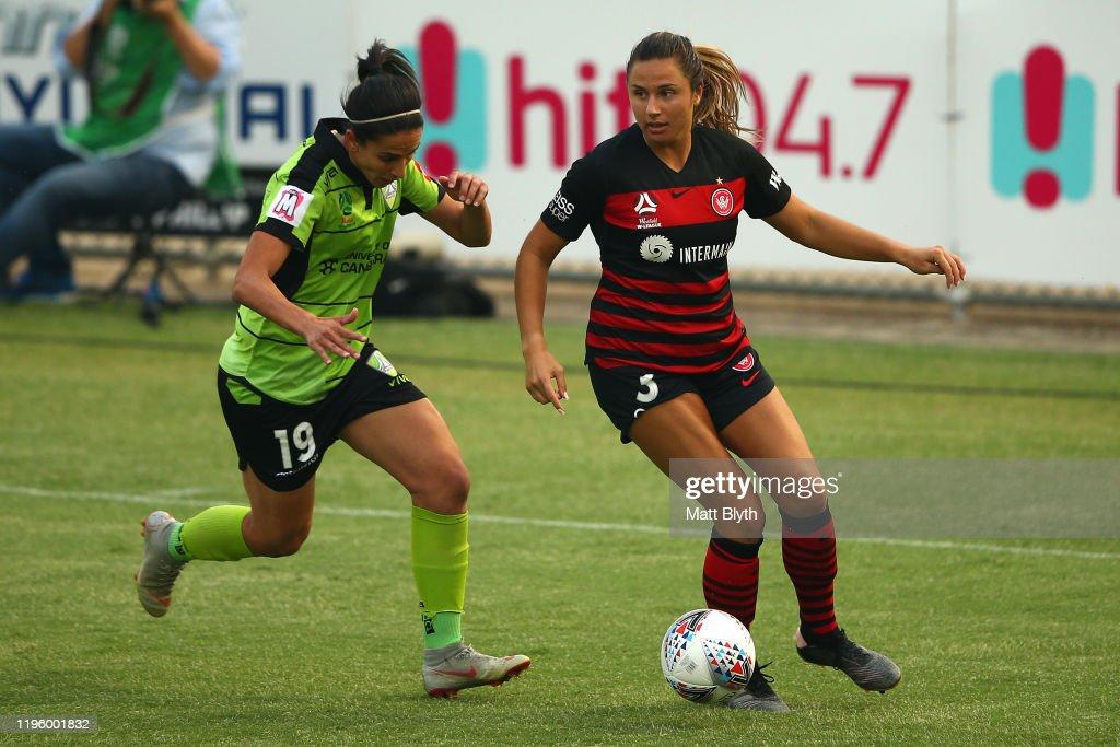 W-League Rd 7 - Canberra v Western Sydney : News Photo