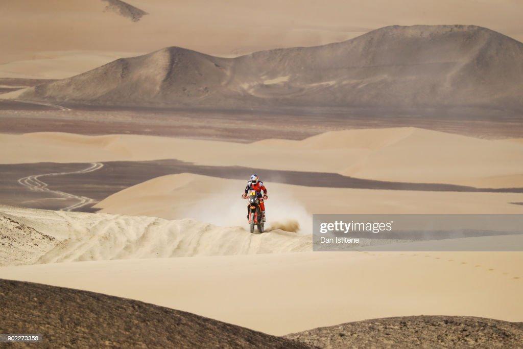 2018 Dakar Rally - Day Two : News Photo
