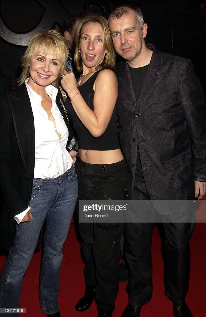 Sam Taylor, Wood With Lulu And Neil Tennant, Pet Shop Boys Party At Infinity, Where Artist Sam Taylor, Wood Performed For The First Time Partnered By Russian Ballet Dancer Ivan Prutrov And Watched By Friends