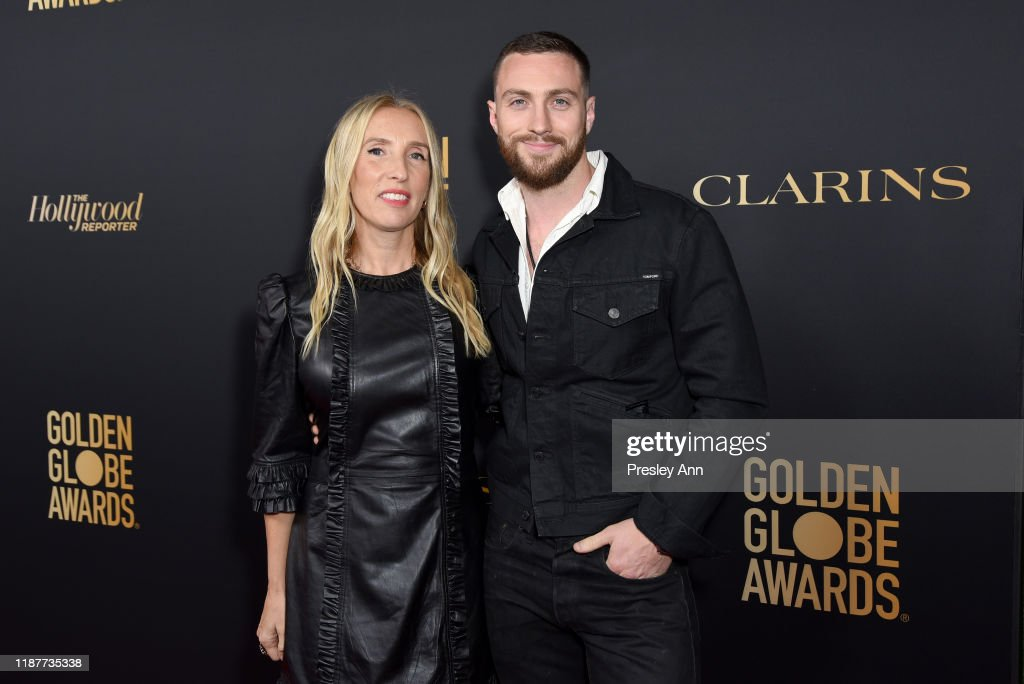 Hollywood Foreign Press Association And The Hollywood Reporter Celebration Of The 2020 Golden Globe Awards Season And Unveiling Of The Golden Globe Ambassadors : Photo d'actualité