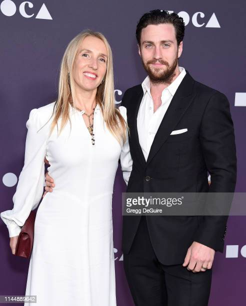 Sam TaylorJohnson and Aaron TaylorJohnson attend the MOCA Benefit 2019 at The Geffen Contemporary at MOCA on May 18 2019 in Los Angeles California