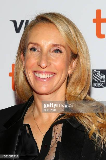 Sam TaylorJohnson attends the 'A Million Little Pieces' premiere during 2018 Toronto International Film Festival at Ryerson Theatre on September 10...