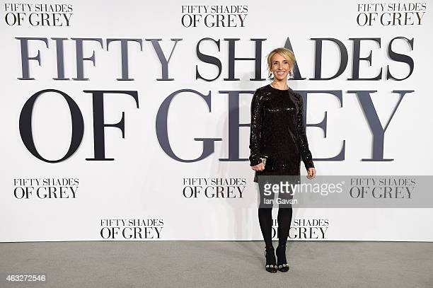 Sam TaylorJohnson attends the UK Premiere of 'Fifty Shades Of Grey' at Odeon Leicester Square on February 12 2015 in London England