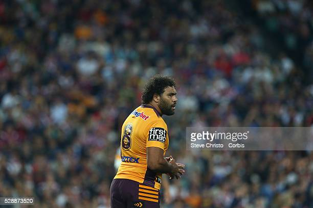 Sam Thaiday of the Broncos during the round 24 match between Sydney Roosters and Brisbane Broncos at Allianz Stadium on Saturday, August 22nd 2015,...