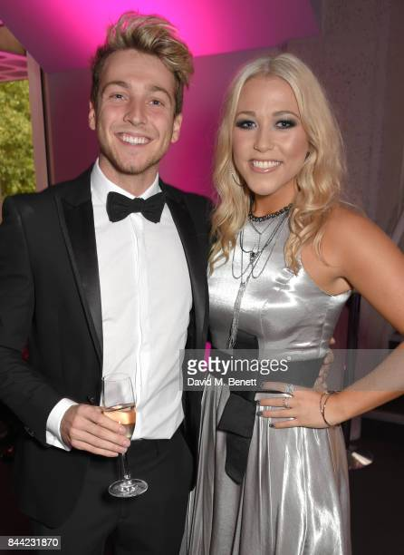 Sam Thompson and Amelia Lily attend The Inspiration Awards For Women at The Queen Elizabeth II Conference Centre on September 8 2017 in London England