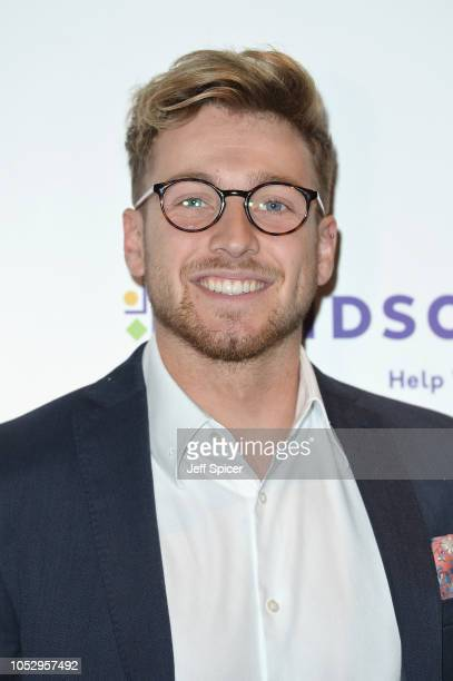 Sam Thompson attends the Specsavers 'Spectacle Wearer Of The Year' at 8 Northumberland Avenue on October 24 2018 in London United Kingdom