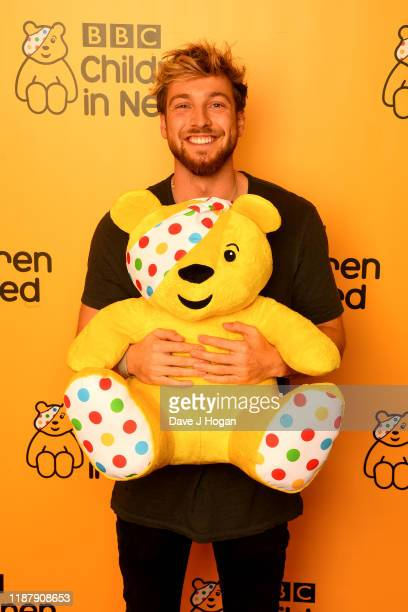 Sam Thompson backstage at BBC Children in Need's 2019 Appeal night at Elstree Studios on November 15 2019 in Borehamwood England