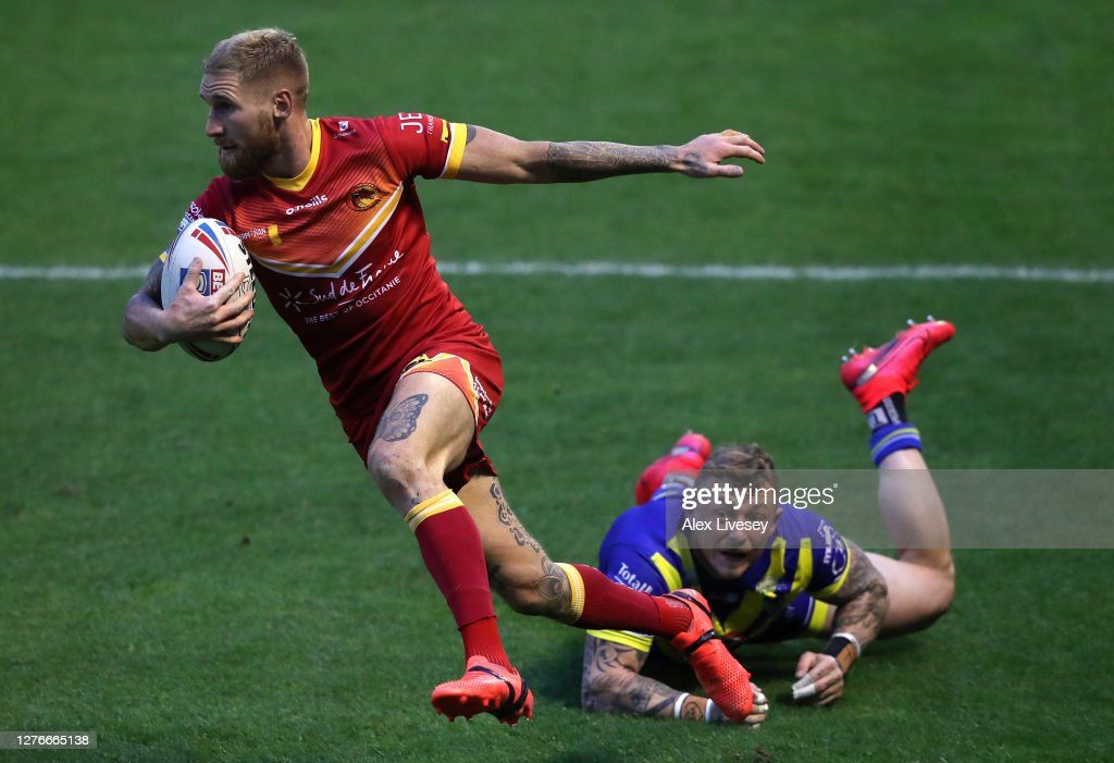 Warrington Wolves v Catalans Dragons - Betfred Super League : News Photo