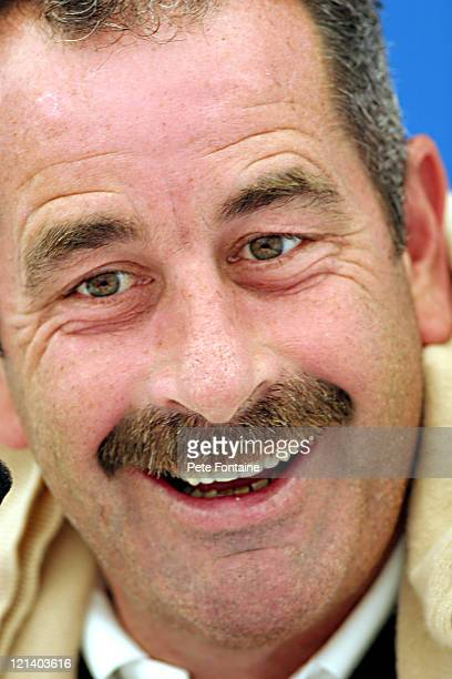 Sam Torrance during the Senior British Open practice day at the Royal Portrush Golf Club July 21 2004