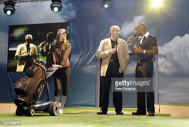Sam Torrance makes an appearance at fashion show during 2005 London Golf Show at the ExCel Centre April 23 2005