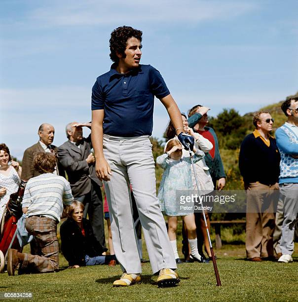 Sam Torrance of Scotland during the 105th Open Championship played on the Royal Birkdale Golf Club on July 7 1976 in Southport England