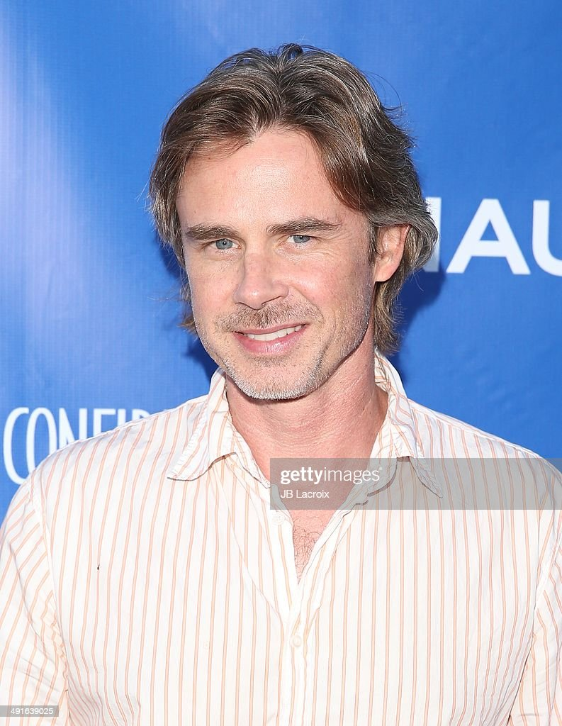 Sam Trammell attends the Nautica and LA Confidential's Oceana Beach House Party on May 16, 2014 in Santa Monica, California.