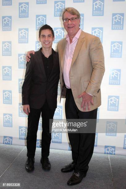 Sam Tsui and Jim Chanos attend MIRACLE HOUSE 20th Anniversary Memorial Day Summer Kickoff Benefit honoring Amy Chanos and Jim Chanos at Bridgehampton...