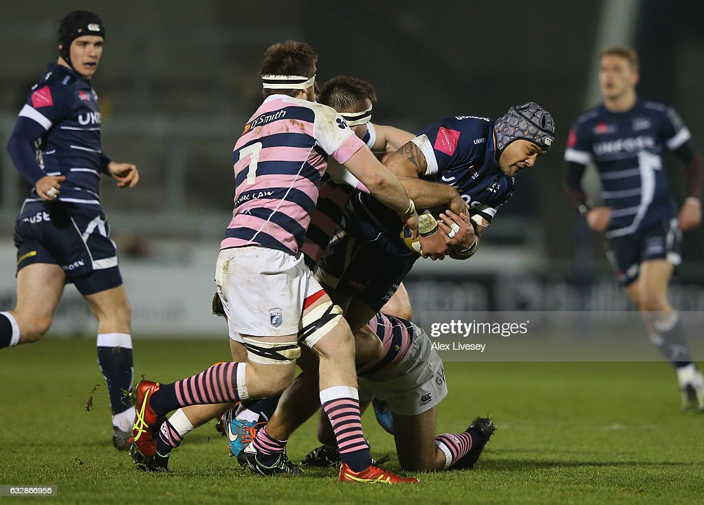 Sale Sharks v Cardiff Blues - Anglo-Welsh Cup
