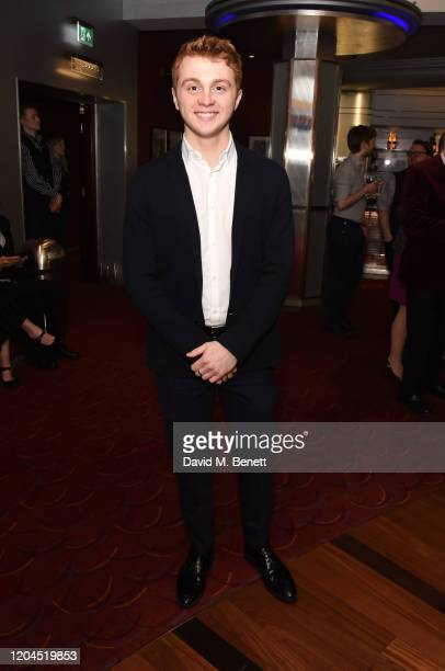 Sam Tutty attends The WhatsOnStage Awards 2020 at The Prince of Wales Theatre on March 1 2020 in London England