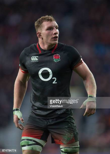 Sam Underhill of England during the Old Mutual Wealth Series autumn international match between England and Argentina at Twickenham Stadium on...