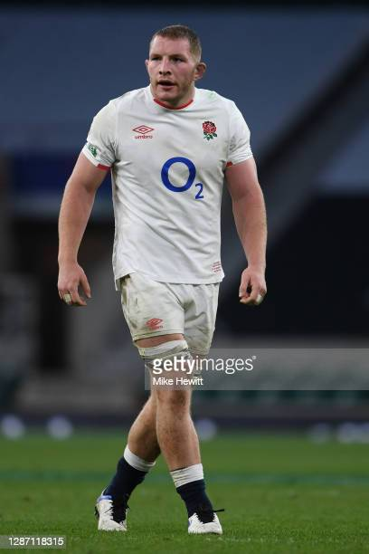 Sam Underhill of England looks on during the England v Ireland Quilter International, part of the Autumn Nations Cup at Twickenham Stadium on...