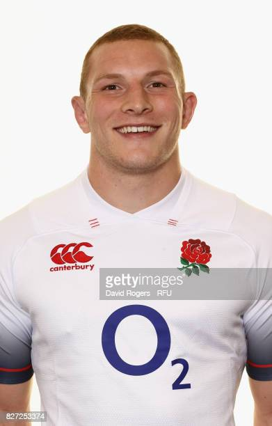 Sam Underhill of England poses for a portrait at The Lensbury on August 5 2017 in Teddington England