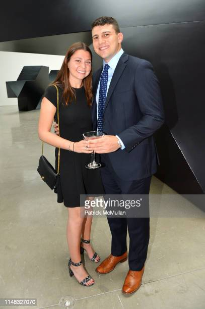 Sam Wald and Brian Joachim attend Richard Kirshenbaum's Book Party ROUGE at Pace Gallery on June 5 2019 in New York City
