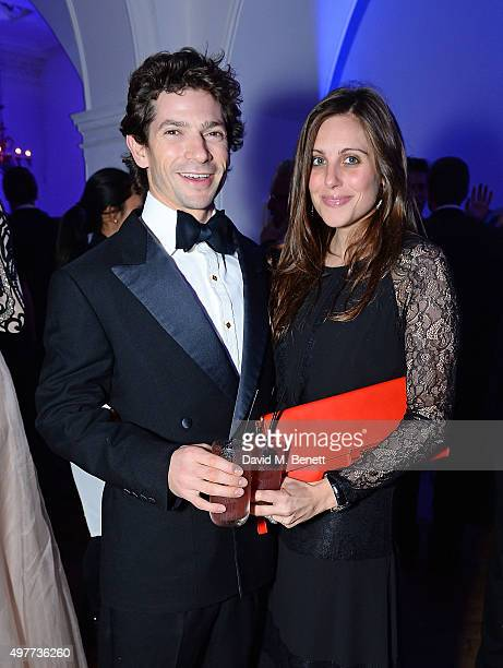 Sam Waley Cohen and Annabel Waley Cohen attend The Sugarplum Dinner & Charity Auction supporting children with type 1 diabetes and raising funds for...