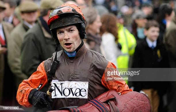 Sam Waley-Cohen after riding Long Run to win The William Hill King George VI Steeple Chase at Kempton racecourse on December 26, 2012 in Sunbury,...