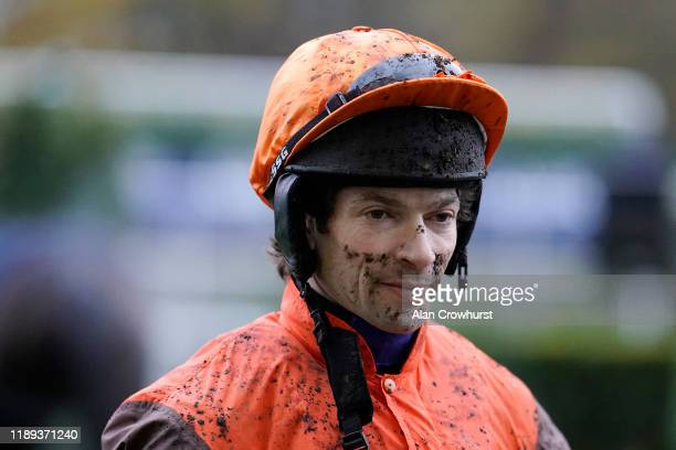 Sam Waley-Cohen poses at Ascot Racecourse on November 22, 2019 in Ascot, England.