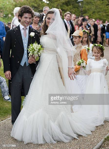 Sam WaleyCohen With Is New Wife Bella Berkshire
