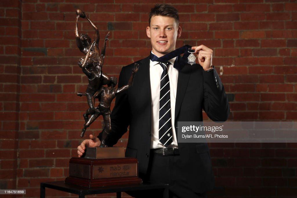 2019 AFL Rising Star : News Photo