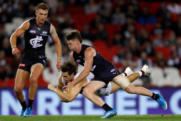 AUS: Carlton v St Kilda - 2021 AFL Community Series